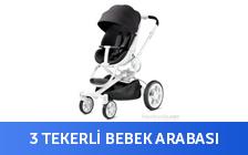Üç Tekerli Bebek Arabası