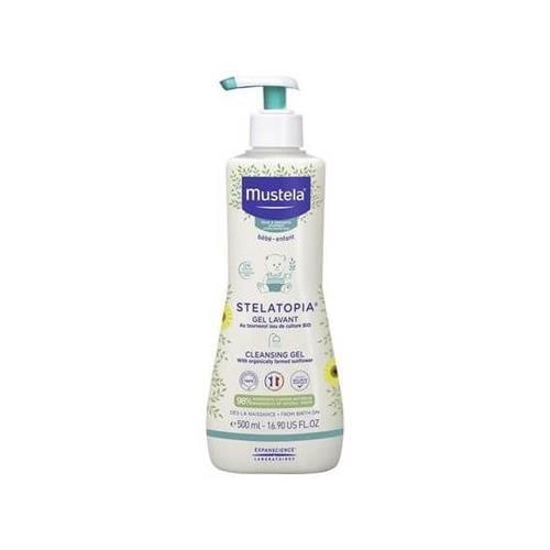 Mustela Stelatopia Cleansing Cream (Çok kuru Ciltlere Özel Temizleme Kremi) 500 ml
