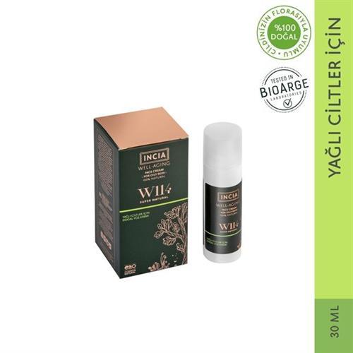 Incia Well Aging Doğal Yüz Kremi Yağlı Ciltler 30 ml